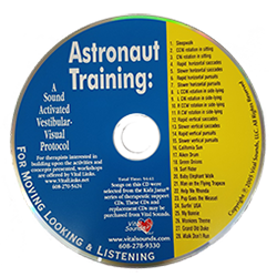 Astronaut Training: A Sound Activated Vestibular-Visual Protocol CD