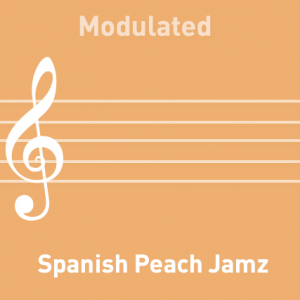 Peach Jamz Spanish - Modulated