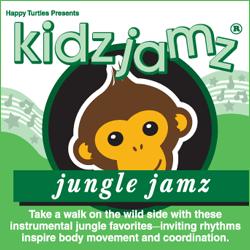 Kidz Jamz: Jungle Jamz CD (Not Modified)