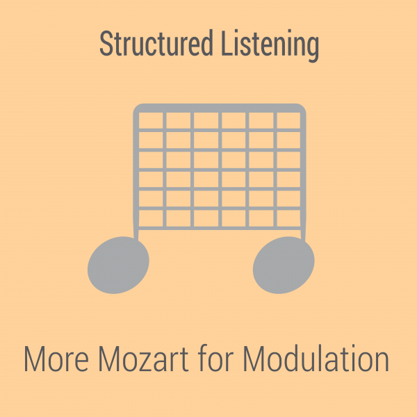 More Mozart for Modulation (Not Modulated)