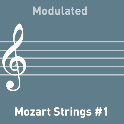 Mozart Strings #1 - Modulated