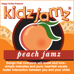 Kidz Jamz: Peach Jamz CD (Not Modified)