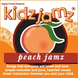 Kidz Jamz: Peach Jamz CD (Not Modified)