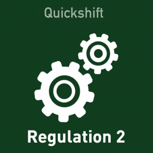Quickshift - Regulation 2