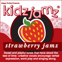 Kidz Jamz: Strawberry Jamz CD (Not Modified)