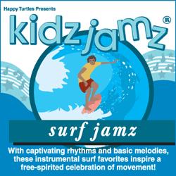 Kidz Jamz: Surf Jamz CD (Not Modified)